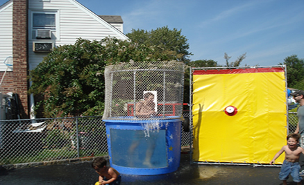 Long Island Dunk Tank Hottracxs Entertainment DJ Photo Booths And Inflata